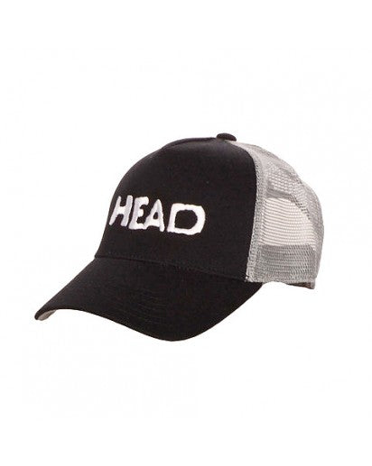 HEAD - BLACK & GRAY SNAP-BACK HAT