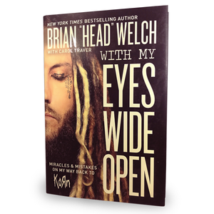 WITH MY EYES WIDE OPEN (Hardcover)