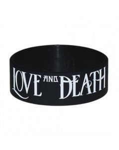 "Love and Death 1"" Gel Bracelet"