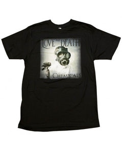 LOVE AND DEATH CHEMICALS T-SHIRT