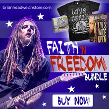 Faith 'N Freedom Book, Shirt and Vinyl Bundle
