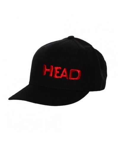 HEAD - BLACK & RED HAT