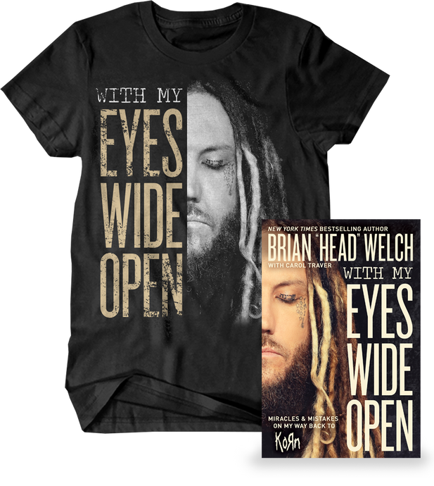 With My Eyes Wide Open - Shirt & Book Bundle