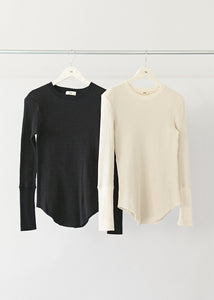 Thermal Power-shoulder Long Tee