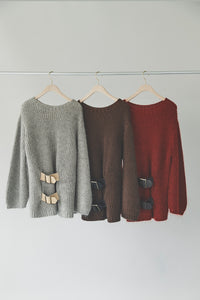 Belted Pull-over Knit
