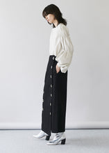 Big Button Long Skirt