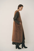 Eco Fur Long Gilet