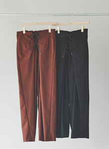 Lace-up Stick Pants