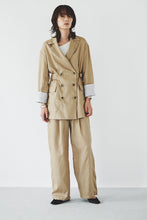 Linen Buckled Pants