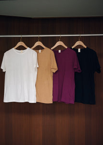Recycled Cotton Basic Tee
