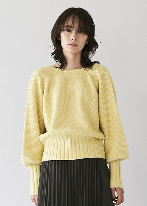 Back Cache-coeur Knit
