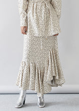 Dot Printed Skirt