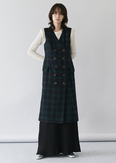 Flannel Tweed Dress