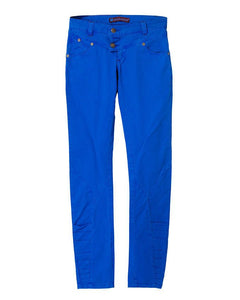 Ladies Trouser Casual Fit Blue - Bien Habille Pakistan