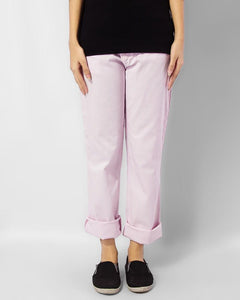 Ladies Trouser Casual Fit Pink - Bien Habille Pakistan