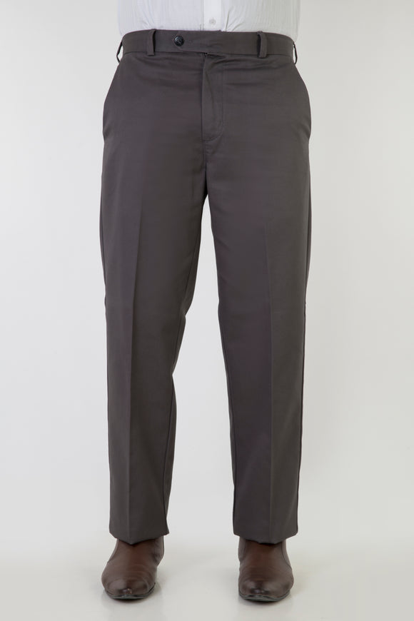 No-Iron Comfort Fit Classic Grey