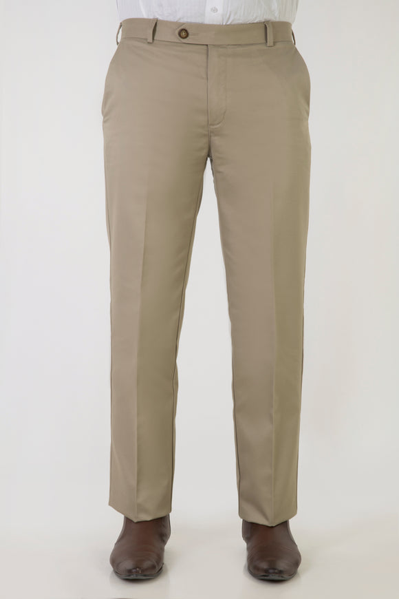 No-Iron Comfort Fit American Khaki