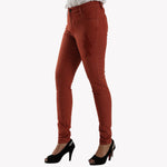 Ladies Jeans Skinny Fit Dark Brown - Bien Habille Pakistan