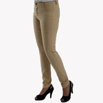 Ladies Jeans Skinny Fit Khaki - Bien Habille Pakistan