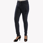 Ladies Jeans Skinny Fit Navy Blue - Bien Habille Pakistan