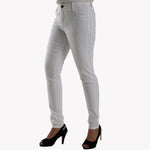 Ladies Jeans Skinny Fit White - Bien Habille Pakistan