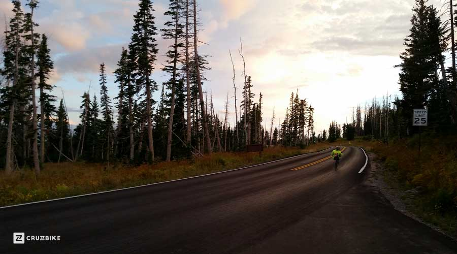 15Sept Hoodoo500 MP sunset descent