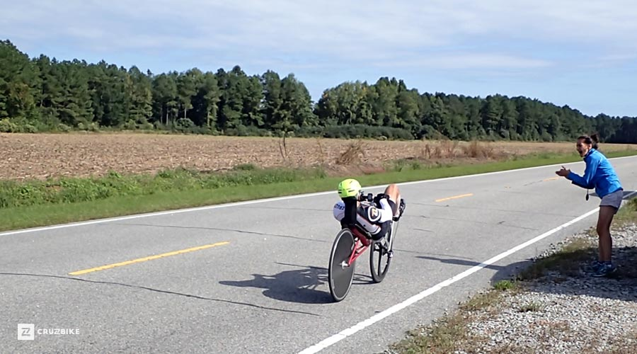 Larry Oslund 100 Mile Record - Cruzbike Vendetta