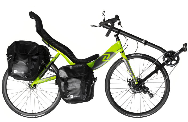 Cruzbike S40 outfitted for touring