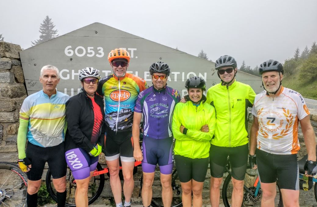 Riding the Blue Ridge Parkway and Skyline Drive on Bicycles
