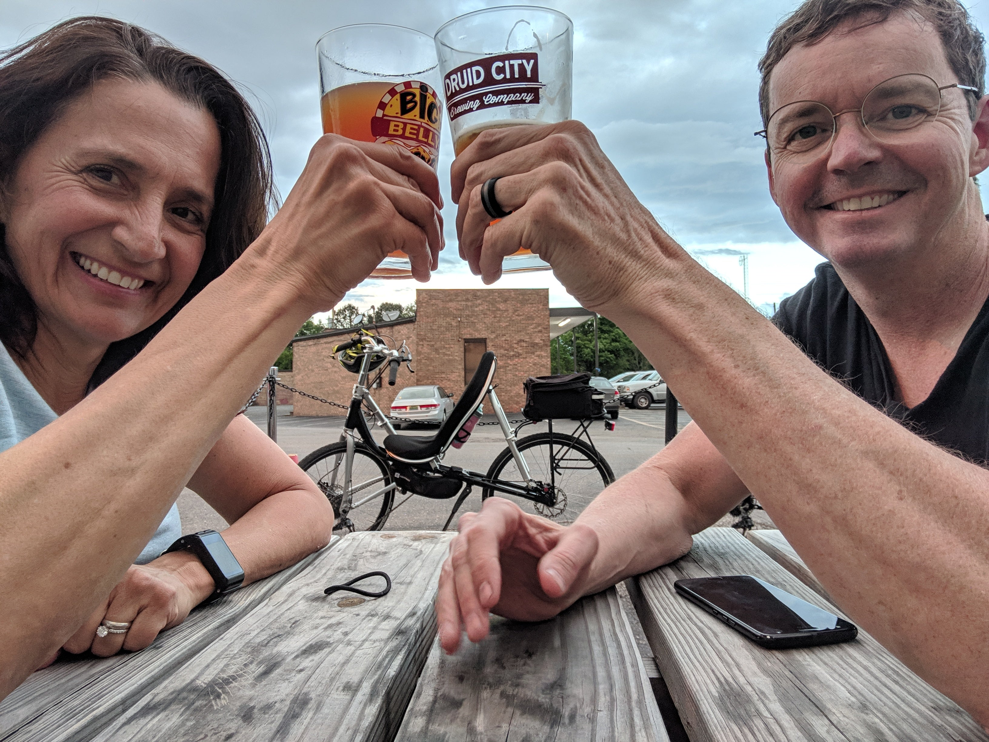 Breweries in Alabama by bike