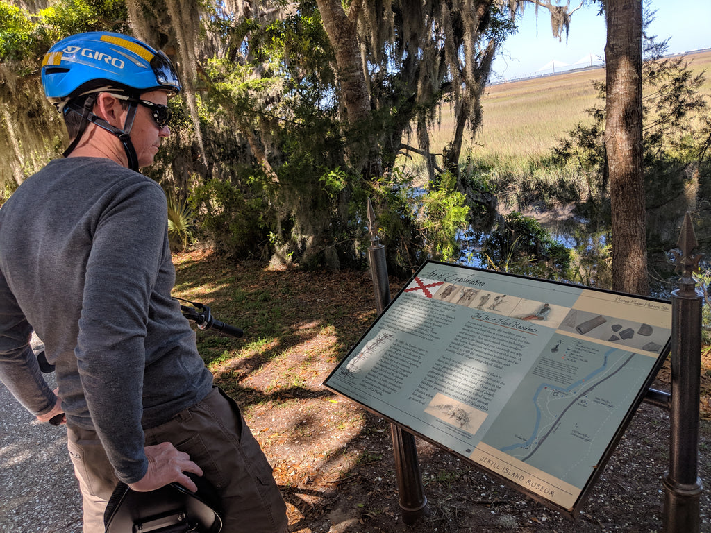 Cycling Jekyll Island GA on recumbent road bike cruisers