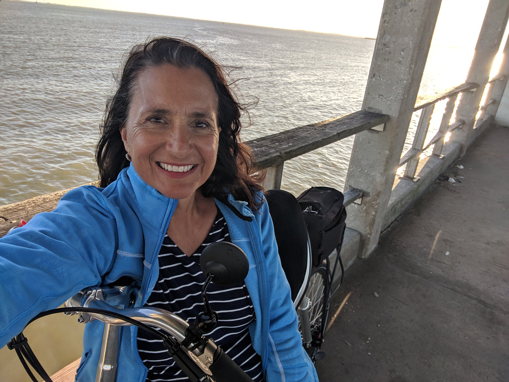 Cycling Jekyll Island GA on Cruzbike recumbent road bike cruisers