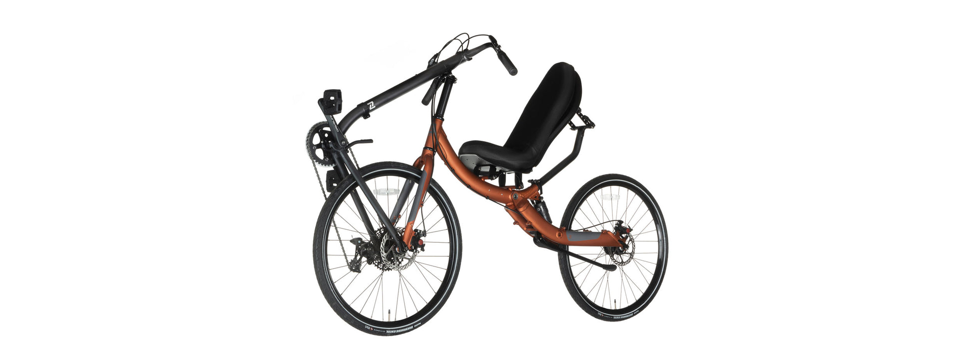 Cruzbike Q45 adventure touring recumbent bike