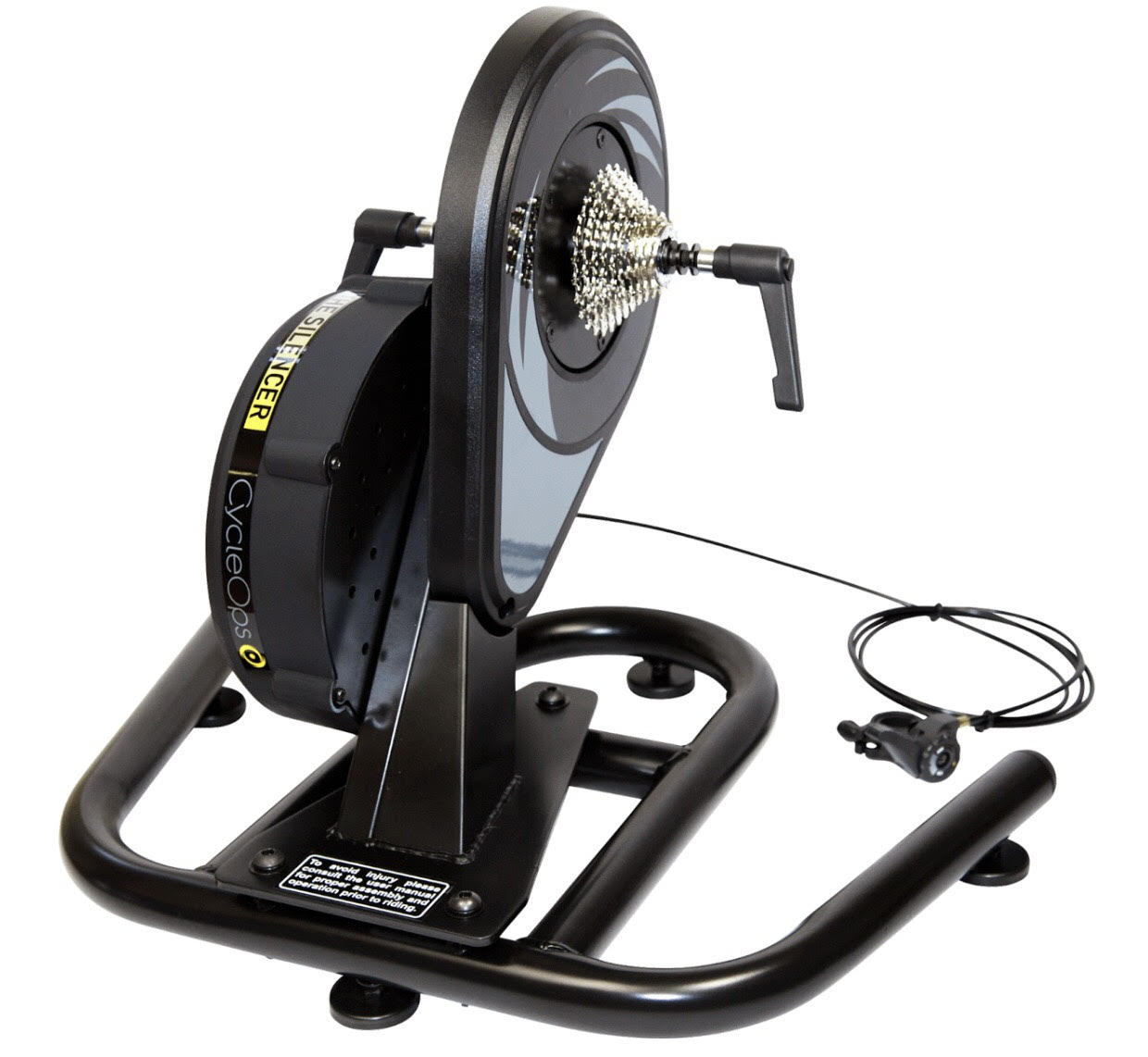Direct drive bicycle trainers