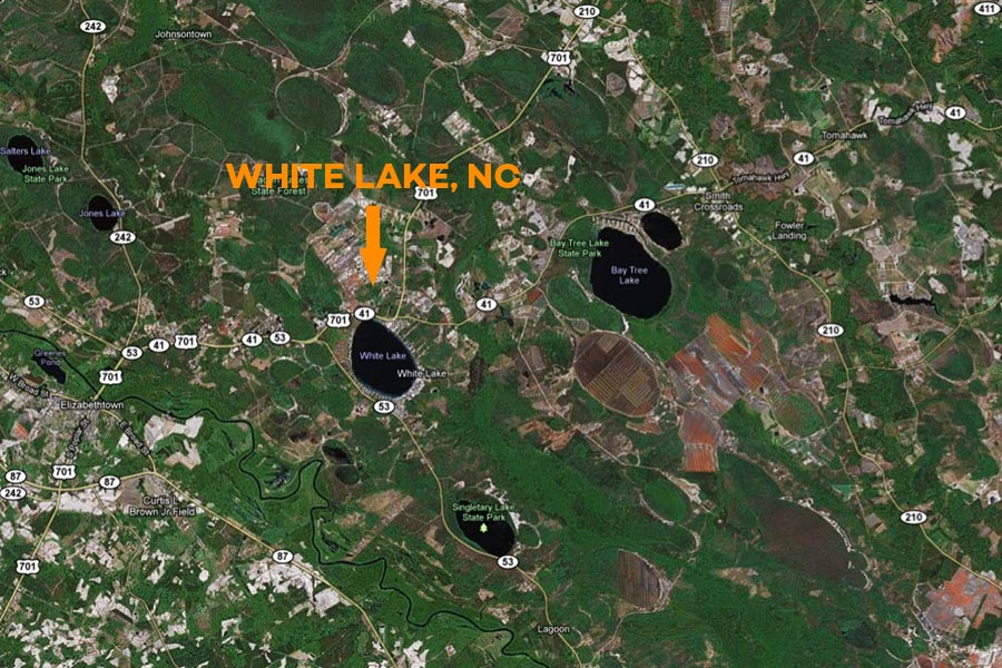 white-lake-map
