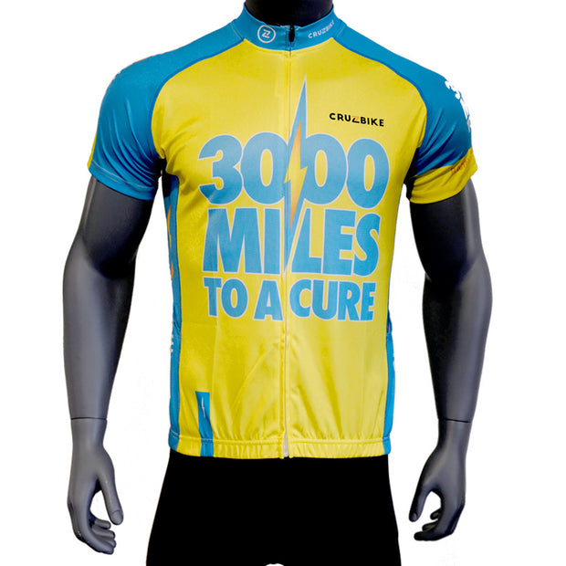 3000 Miles to a Cure Recumbent Cycling Jersey