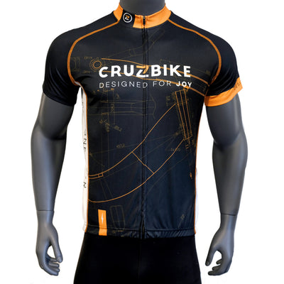 Designed for Joy Recumbent Cycling Jersey