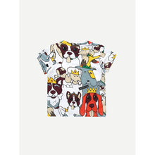 Kids Cartoon Print Tee