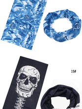 Seemless Bandana/Face-guard for wind protection