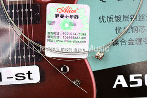 10 Packs of Alice Electric Guitar Strings, Super-Light Gauge