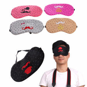 1pcs Soft Mustache Blindfold