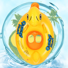 "Inflatable ""Lucky Rubber Ducky"" kids floaty"