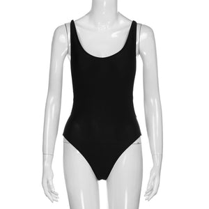 "New from ""Maillot De Bain Beachwear"" - Women's One Piece Backless Mono-kini  with Push-Up Padding"