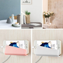 Powstro Phone Stand Holder for Charging. - Universal Wall mounted Mobile Phone Holder- Bracket for iPhone Samsung HTC Sony LG etc