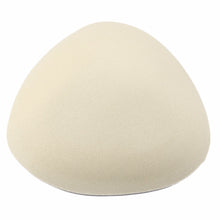 "Soft Sponge Removable Bra ""push-up"" padding for Bikini tops/Swimsuits in Nude"
