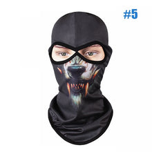 New 3D Animal print Face-shields For Outdoor Activities