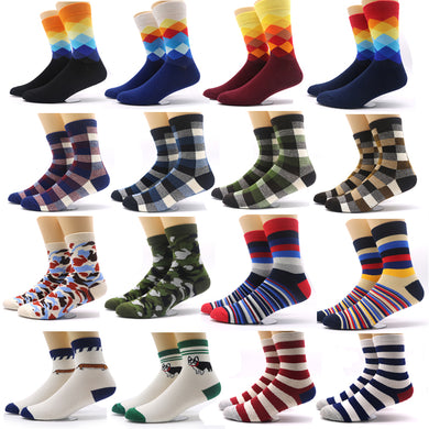Colorful Printed-Fashion Socks  for Men & Women