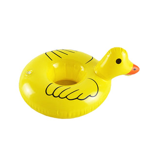 "Personal ""Pool-Bouy"" Inflatable Drink Holder  -  ""Duck-Luxury"""