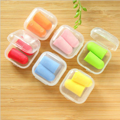 Soft corded Ear Plugs For Swimming/Sleep