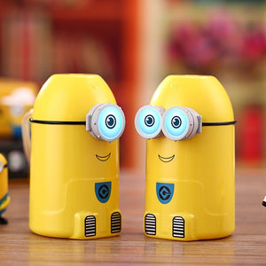 cartoon Minions portable essential oil atomizer/color changing LED night-light